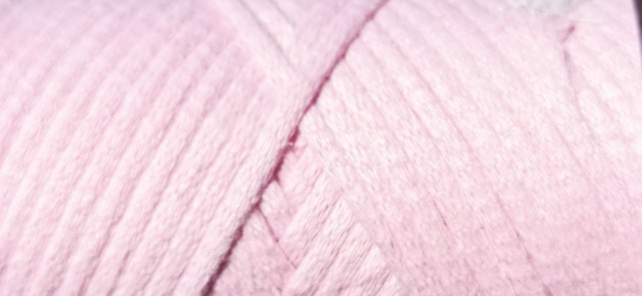 Maccaroni Cotton Filled 3 mm ( Маккарони Котон Фильд 3 мм) 32 - розовая пудра