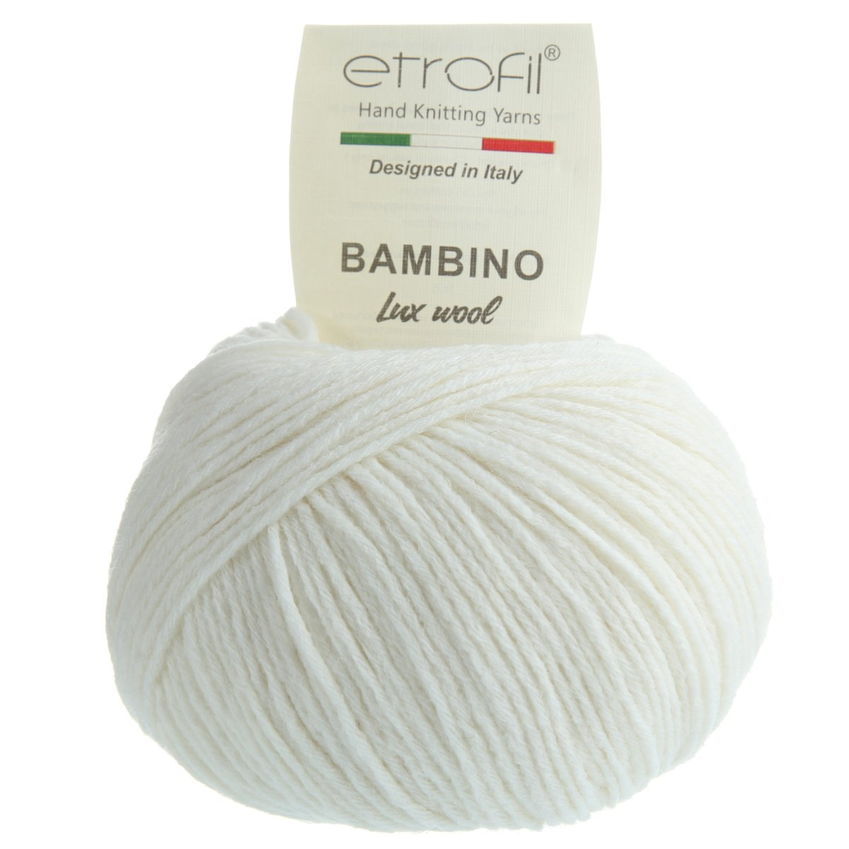 Etrofil Bambino Lux Wool (Этрофил Бамбино Люкс Вул) 70014 - белый купить в Беларуси