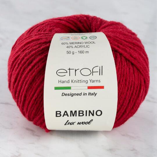 Etrofil Bambino Lux Wool (Этрофил Бамбино Люкс Вул) 70034 - красный заказать в Минске