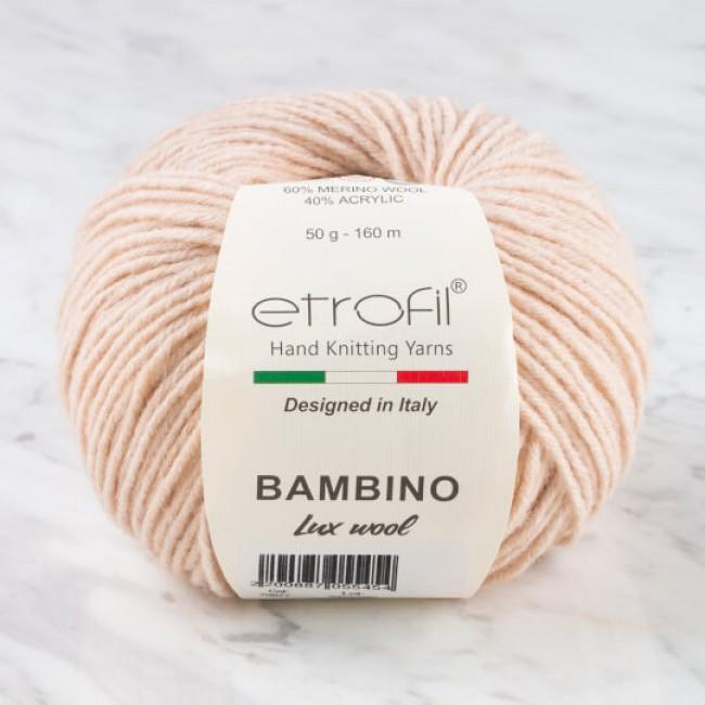 Etrofil Bambino Lux Wool (Этрофил Бамбино Люкс Вул) 70077 - телесный купить со скидкой в Минске