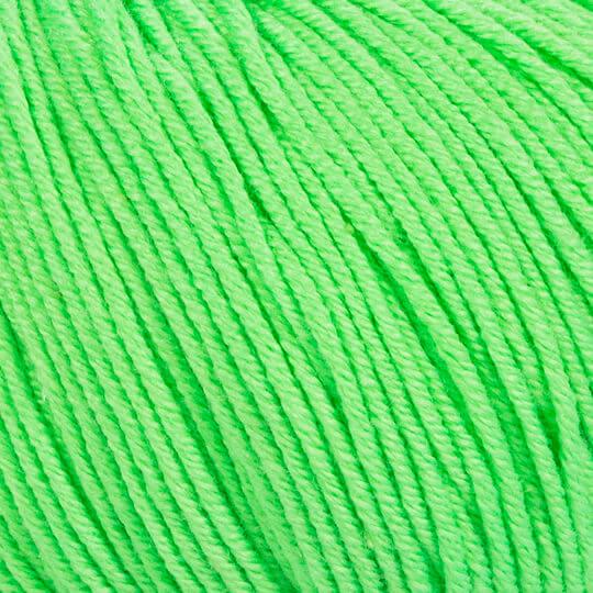 GAZZAL BABY COTTON (ГАЗЗАЛ БЭБИ КОТТОН) 3427 - зеленый неон купить в Беларуси со скидкой