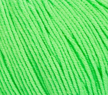 GAZZAL BABY COTTON XL (ГАЗЗАЛ БЭБИ КОТТОН XL) 3427 - зеленый неон купить с доставкой по Беларуси