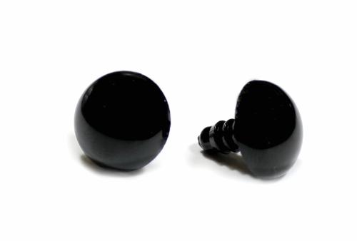 Глазик-носик с винтом ( 1 шт.) круглый 10 мм черный заказать в Минске