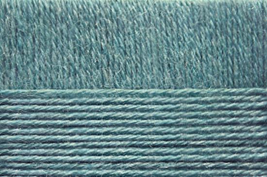 Пехорка Перуанская альпака 1159 - бирюзовый меланж