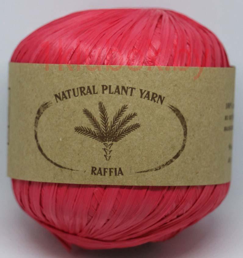 Raffia Wool Sea (Рафия Море Шерсти) 053 - малина заказать в Минске