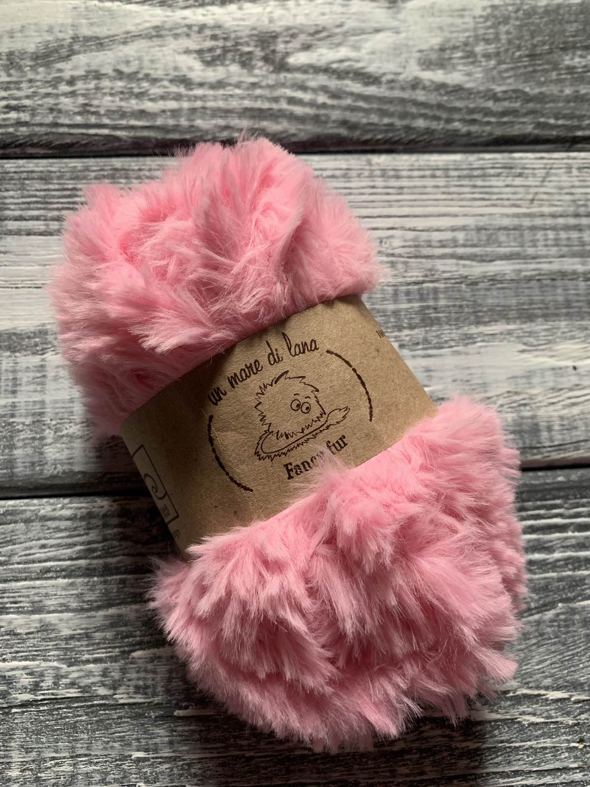 Wool Sea Fancy fur (Море шерсти Фанси фе ) 163 - миндаль купить в Минске со скидкой