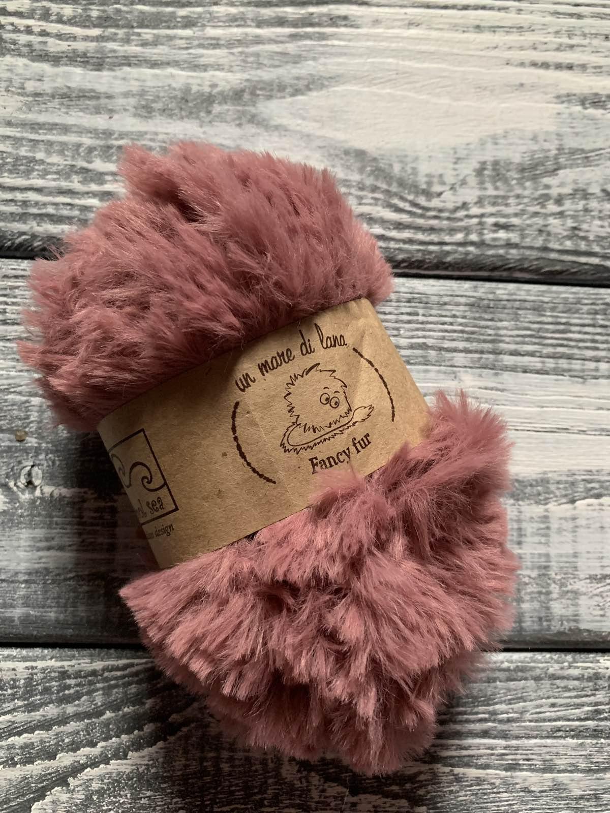 Wool Sea Fancy fur (Море шерсти Фанси фе ) 21 - брусника купить со скидкой в Беларуси