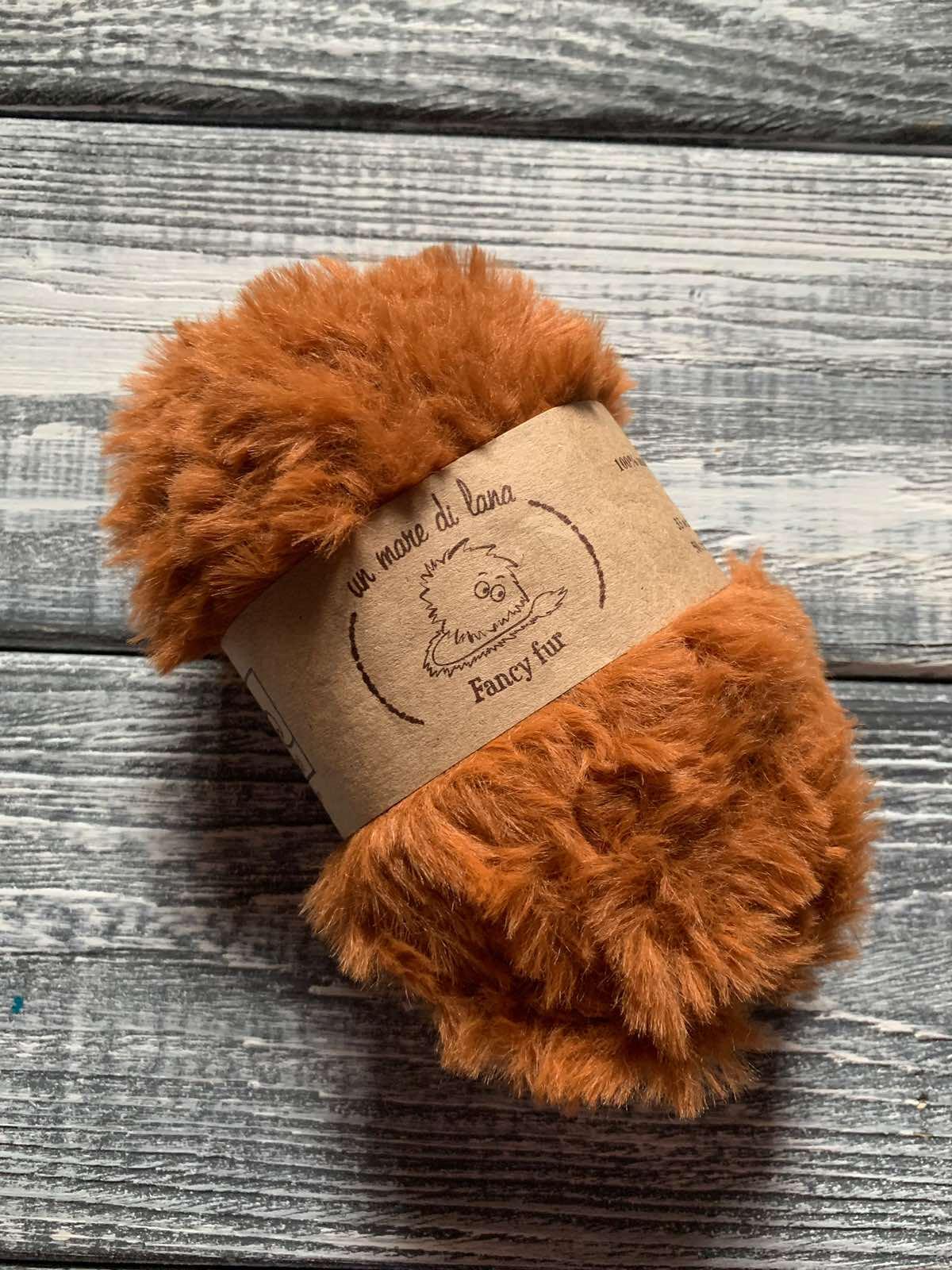 Wool Sea Fancy fur (Море шерсти Фанси фе ) 296 - рыжик заказать в Беларуси со скидкой