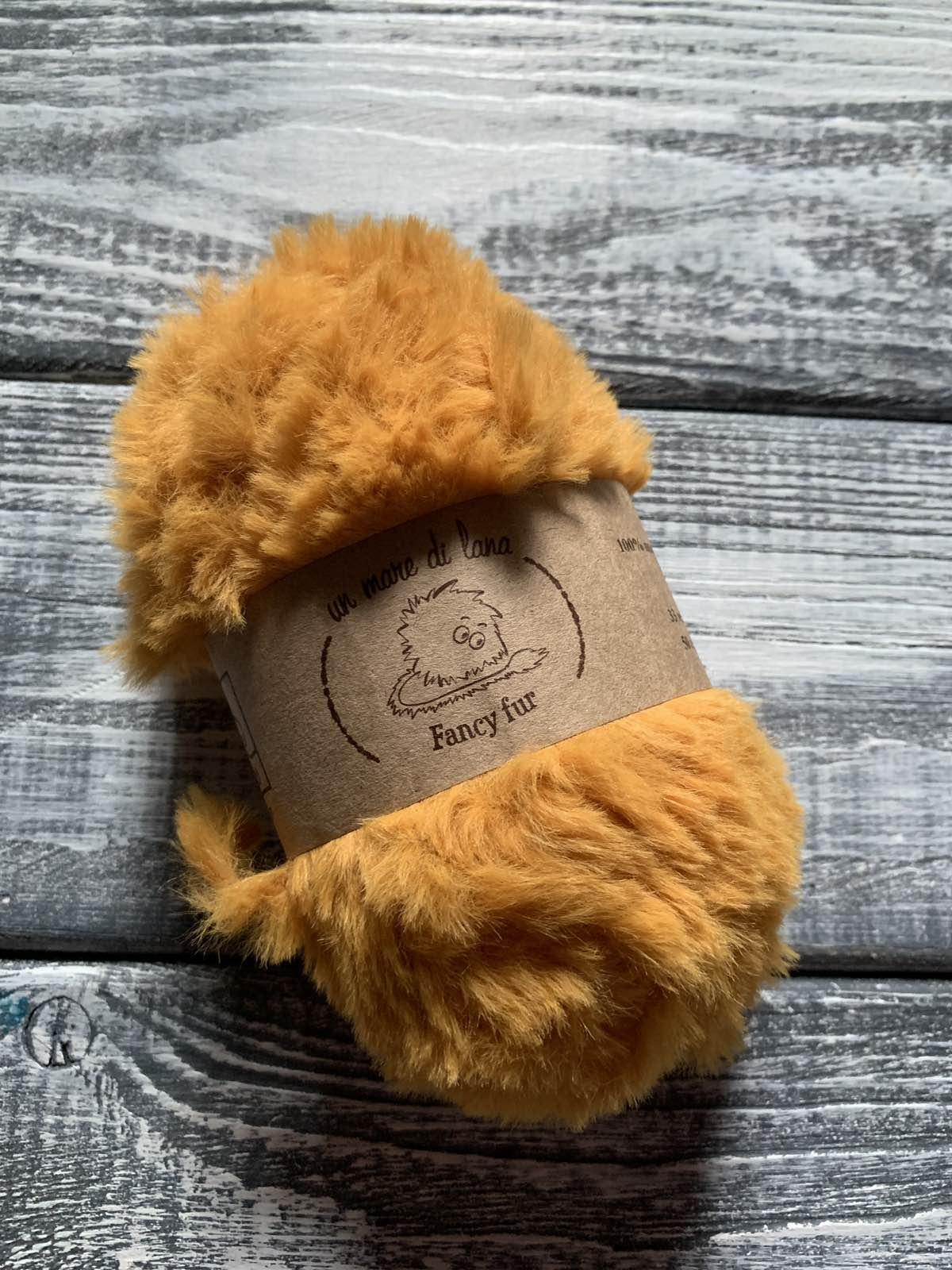 Wool Sea Fancy fur (Море шерсти Фанси фе ) 340 - листопад заказать в Беларуси со скидкой