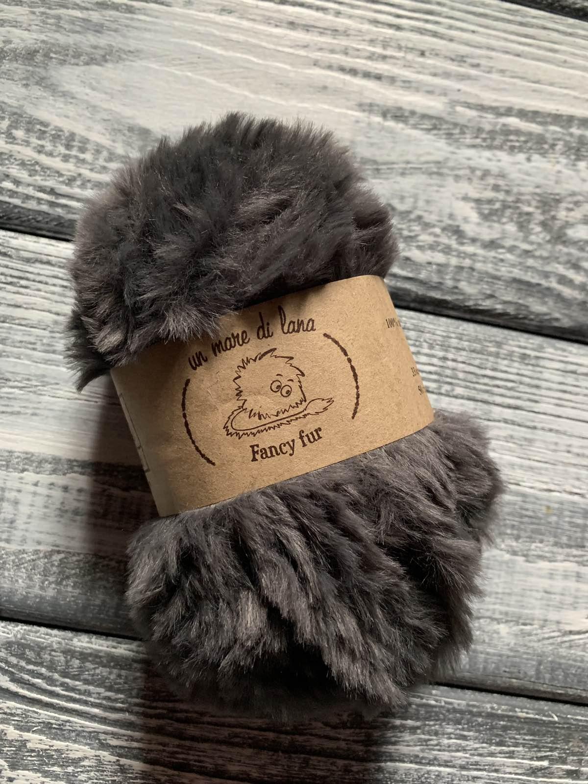 Wool Sea Fancy fur (Море шерсти Фанси фе ) 35 маренго заказать со скидкой в Минске