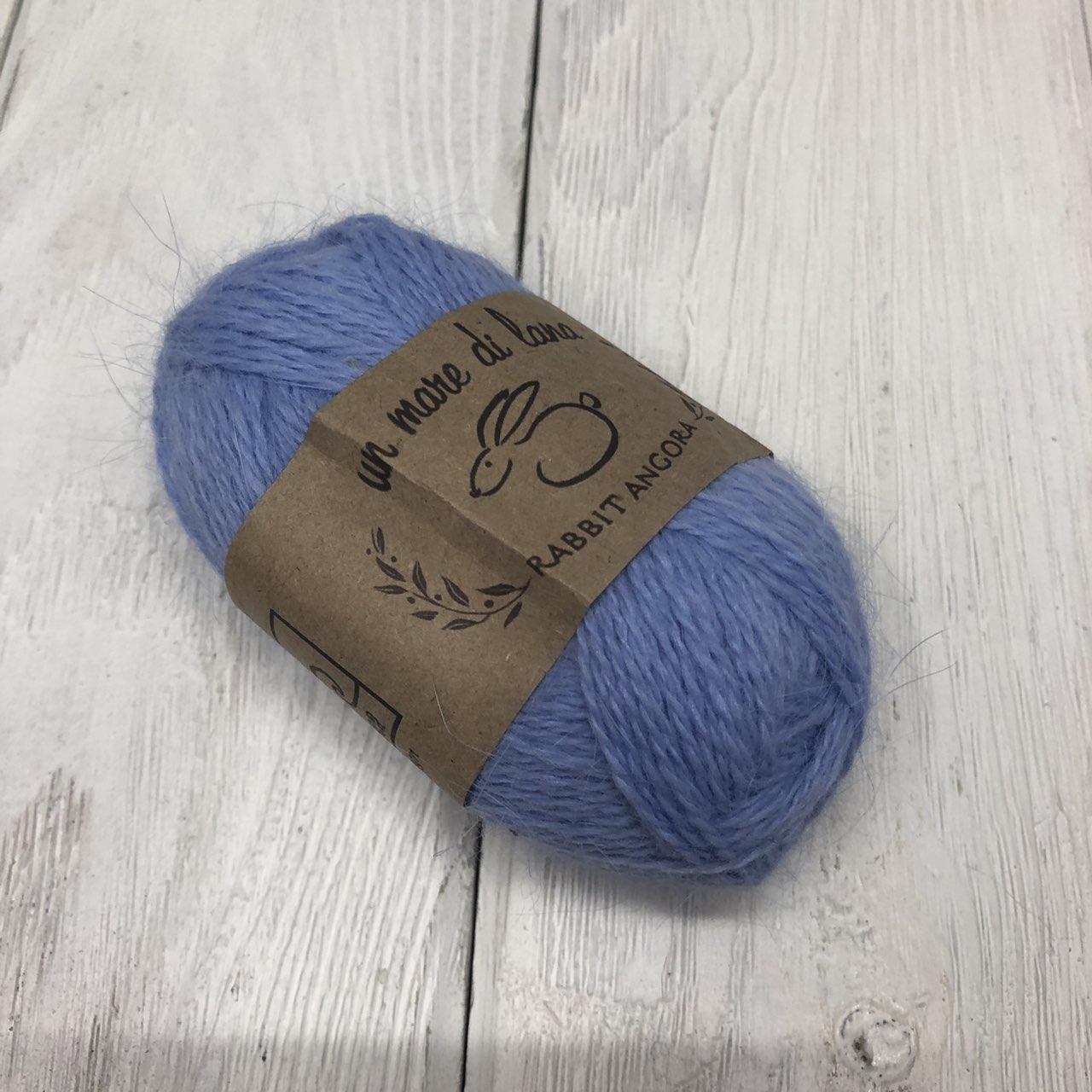 Wool Sea Rabbit Angora (вул сеа Ангора Кролик) 15 - т.голубой заказать в Минске