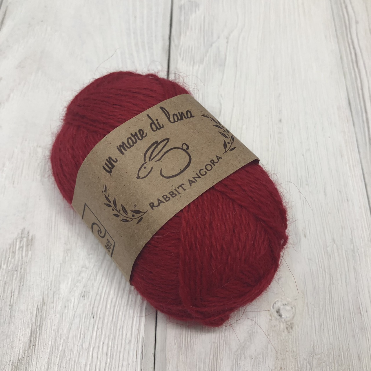 Wool Sea Rabbit Angora (вул сеа Ангора Кролик) 06 - красный купить со скидкой в Беларуси
