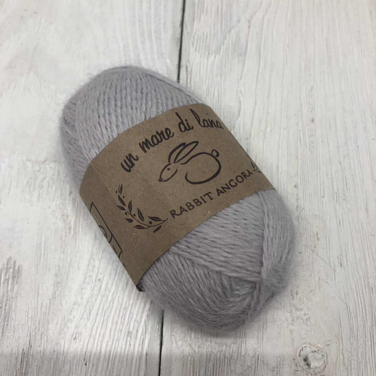 Wool Sea Rabbit Angora (вул сеа Ангора Кролик) 646 - светлая сталь купить с доставкой по Минску