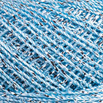 YARNART CAMELLIA (ЯРНАРТ КАМЕЛИЯ) 417 - голубой с серебром заказать со скидкой в Минске