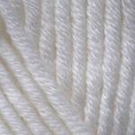 YARNART MERINO BULKY (ЯРНАРТ МЕРИНО БАЛКИ)  501 - белый купить в Беларуси со скидкой